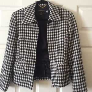 Houndstooth jacket size 4
